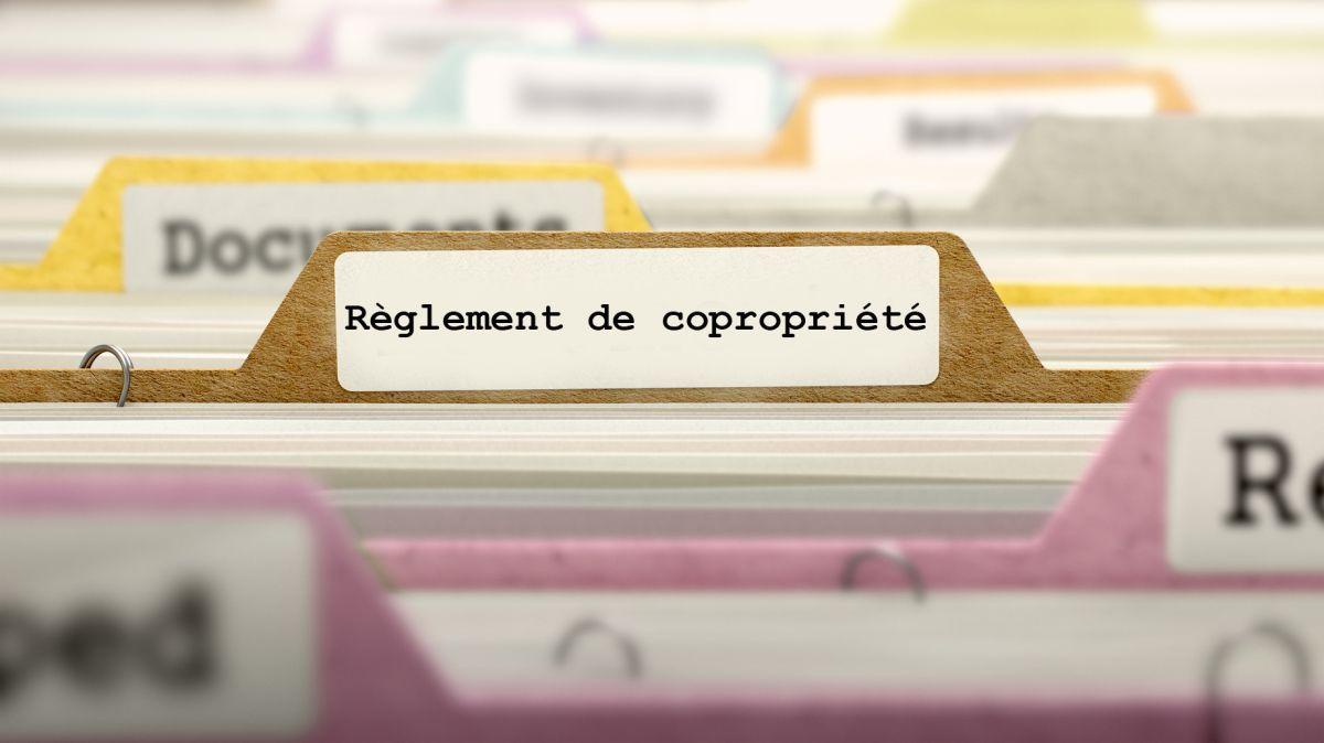 Comment modifier le règlement de copropriété ?